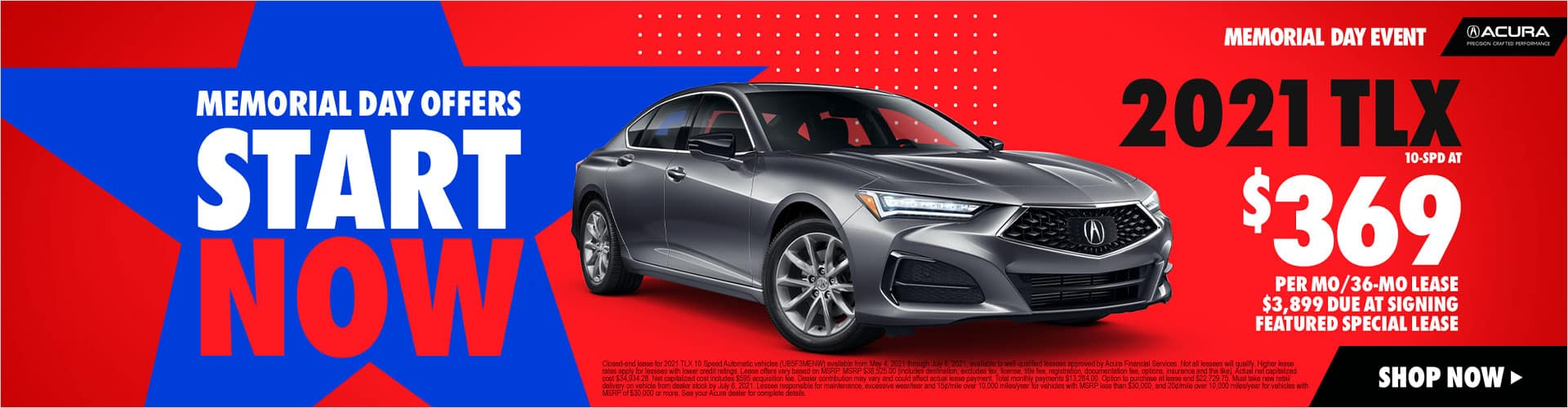 Gray 2021 Acura TLX