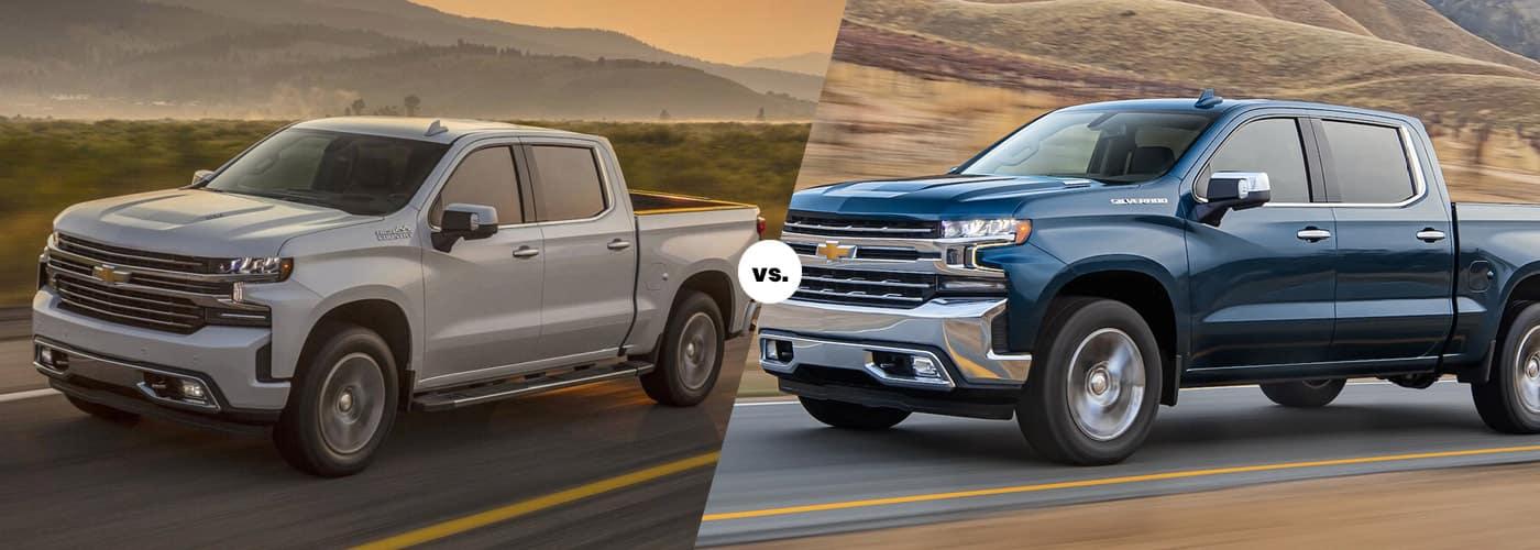 2021 Chevy Silverado 1500 Gas vs. Diesel