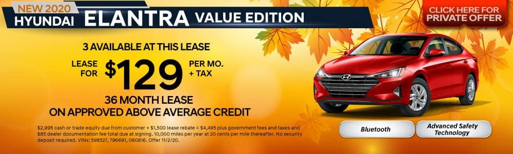 Hyundai Elantra Value Edition