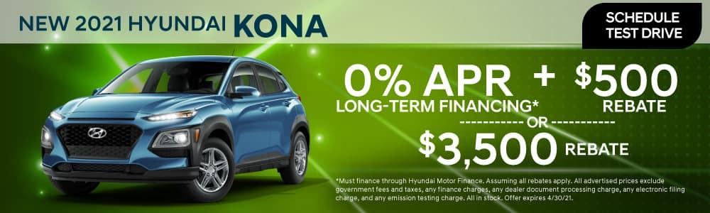 New 2021 Hyundai Kona