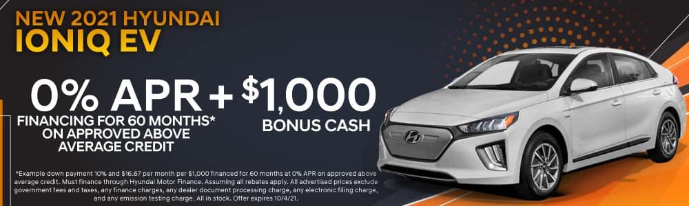 New 2021 Hyundai Ioniq EV