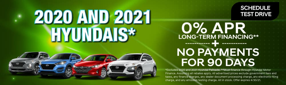 0% APR Financing on Select New Models