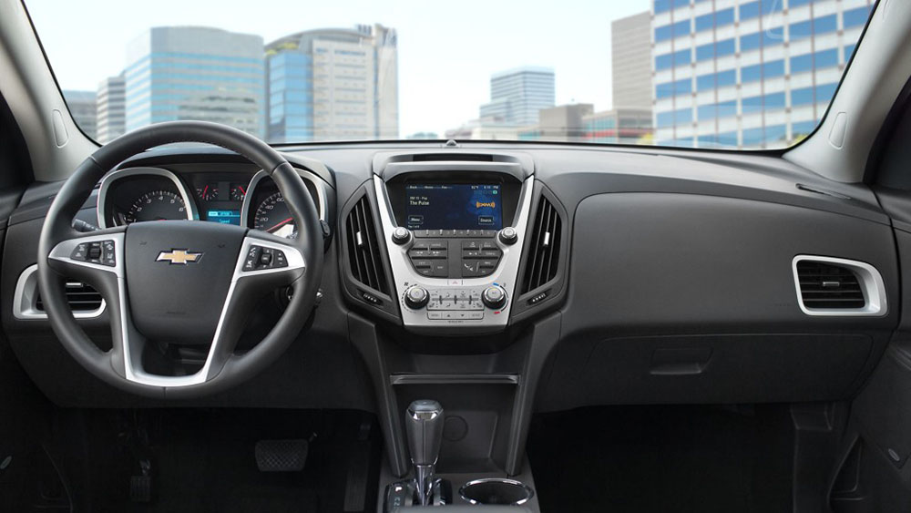 2017 Chevy Equinox Dash