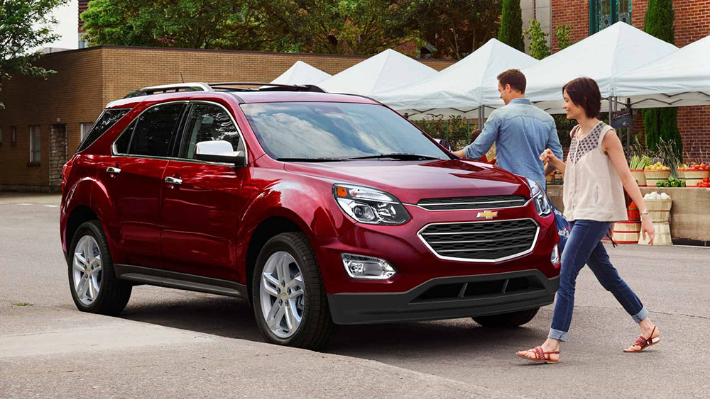2017 Chevy Equinox Red