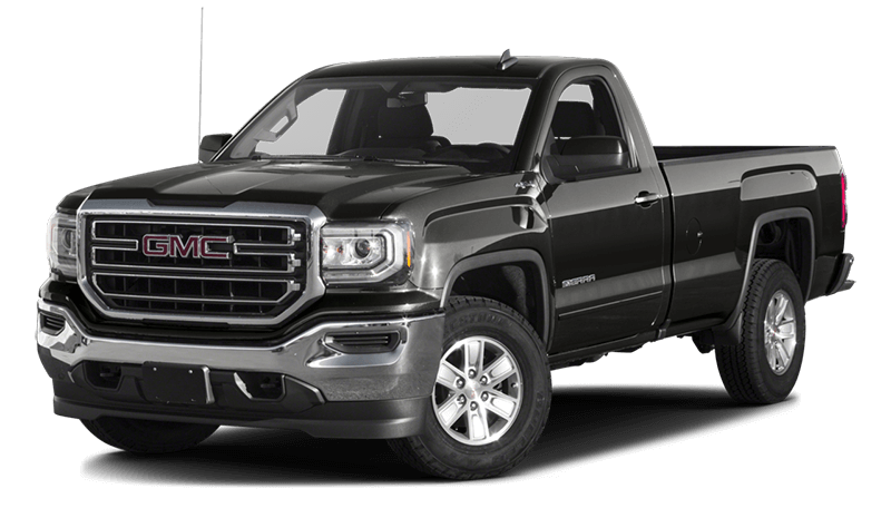 2017 GMC Sierra Black