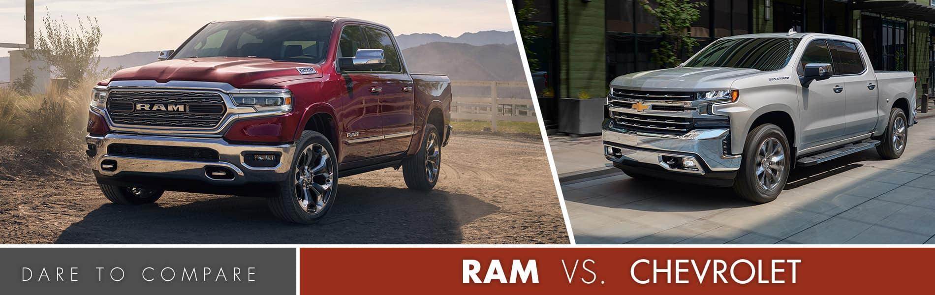Ram vs Chevrolet | Fort Wayne, IN