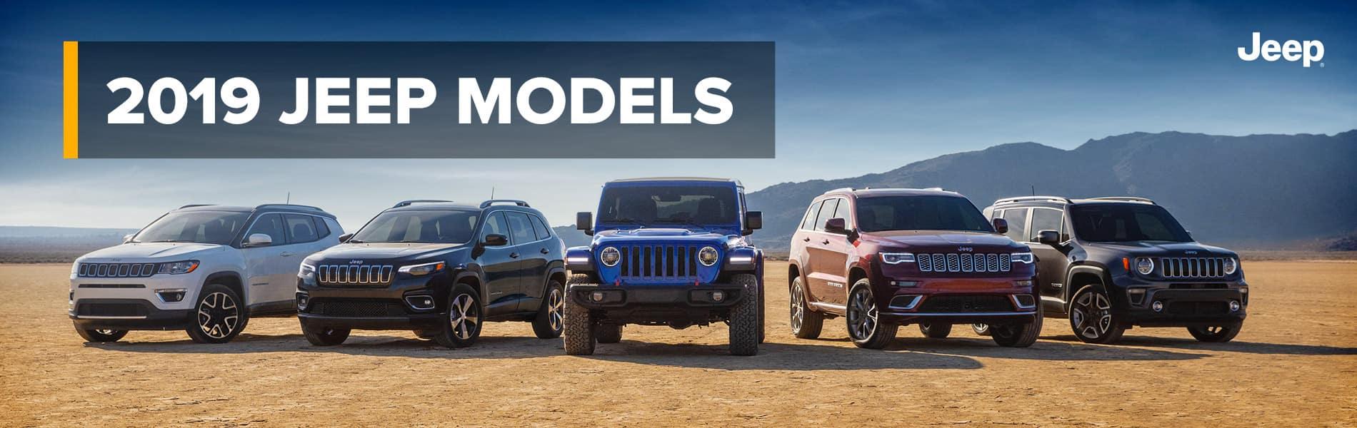 2019 Jeep Models | Fort Wayne, IN
