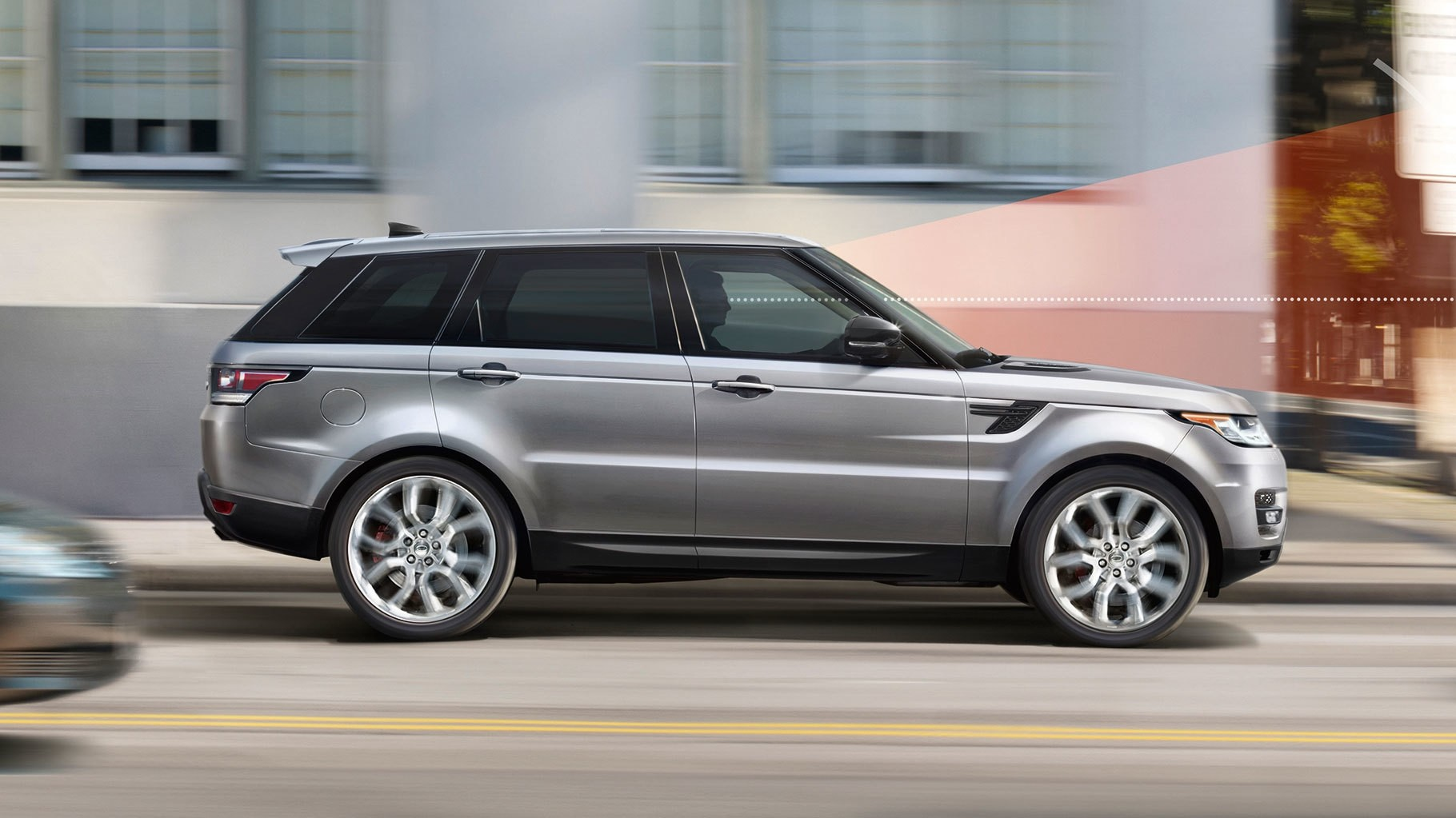 2017 Land Rover Range Rover Sport Exterior Side Profile