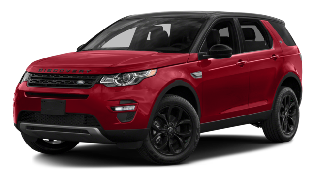 2017 Land Rover Red