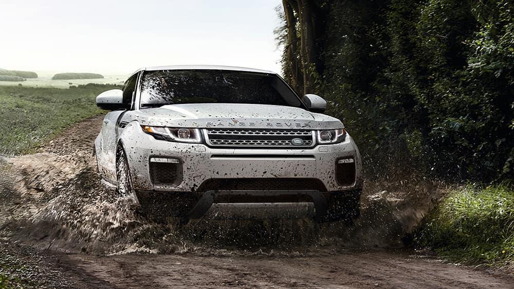 2017 Range Rover Evoque Muddy