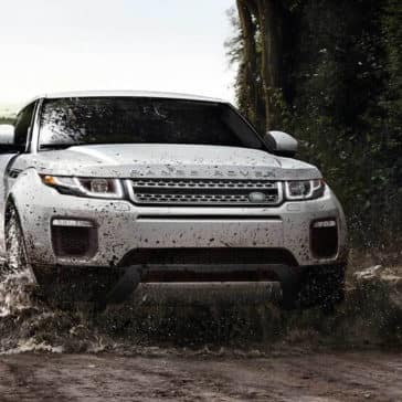 2018 Land Rover Range Rover Evoque Off Roading in Mud