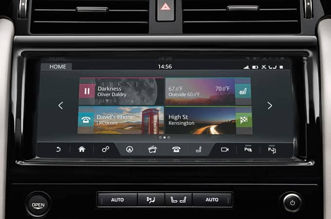 2018 Land Rover Discovery Incontrol Touch Pro