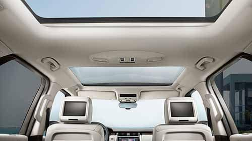2018 Land Rover Discovery Rear Entertainment Package