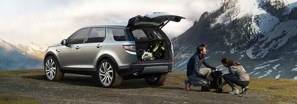 2018 Land Rover Discovery Sport Cargo Area Backpacking