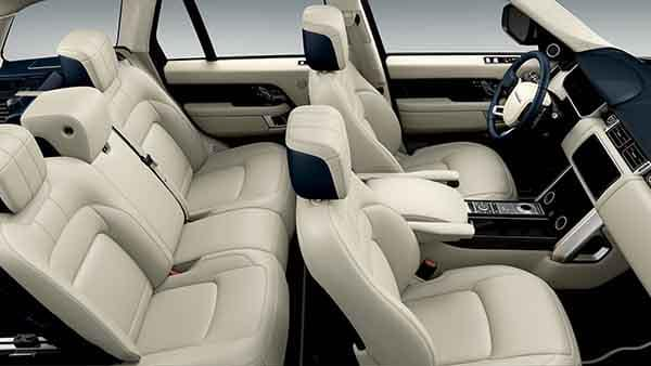 2018 Land Rover Range Rover Interior Seating and Space