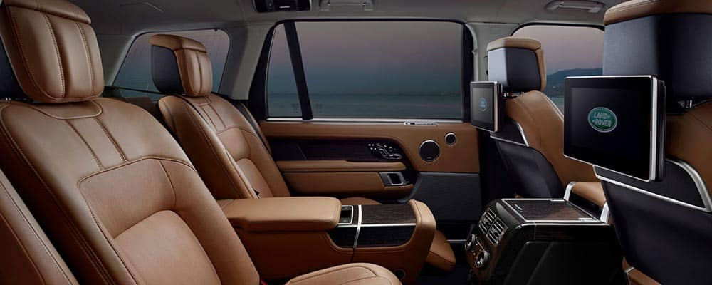 2018 Land Rover Range Rover Interior Seating