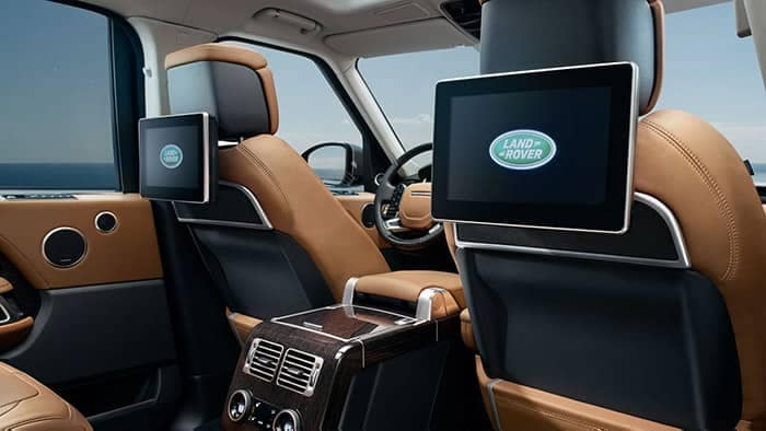 2019 Land Rover Range Rover Rear Entertainment System