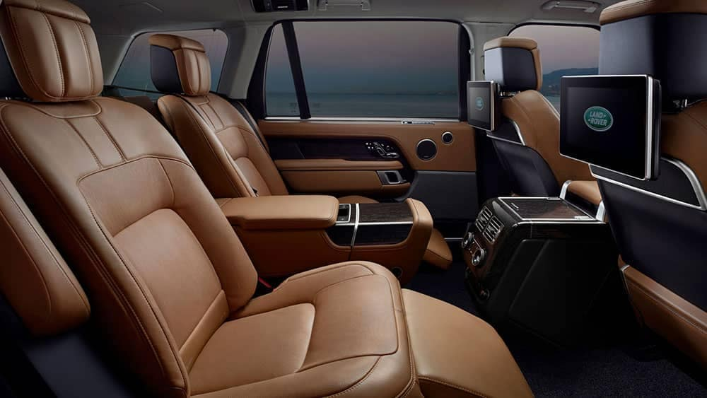 2019 Land Rover Range Rover Rear Seating