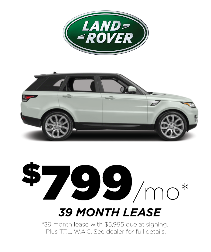 Lease Deals On Range Rover Sport 2017
