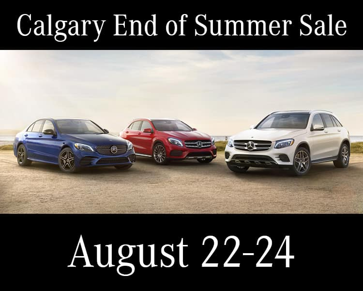 Calgary End of Summer Sale (3 DAYS ONLY)