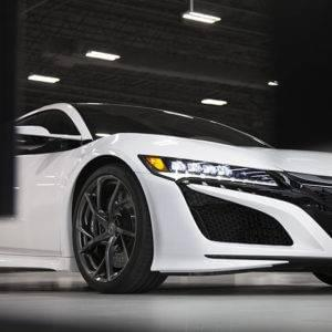 NSX Front Angled View