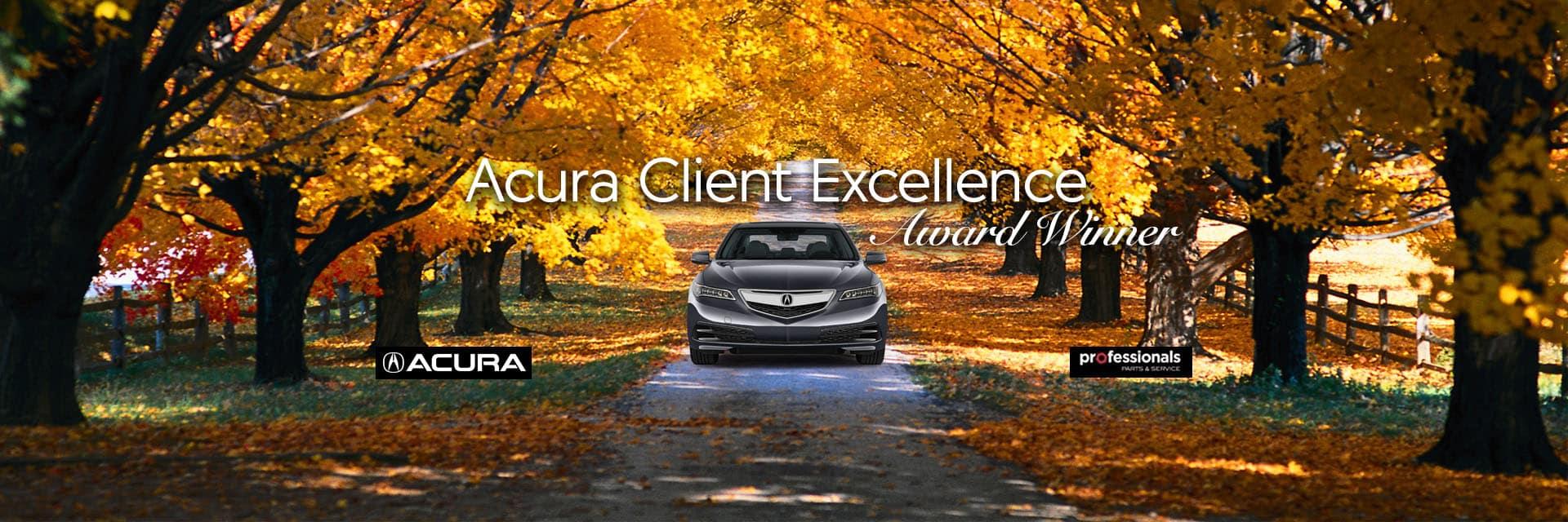 Acura Excellence Award