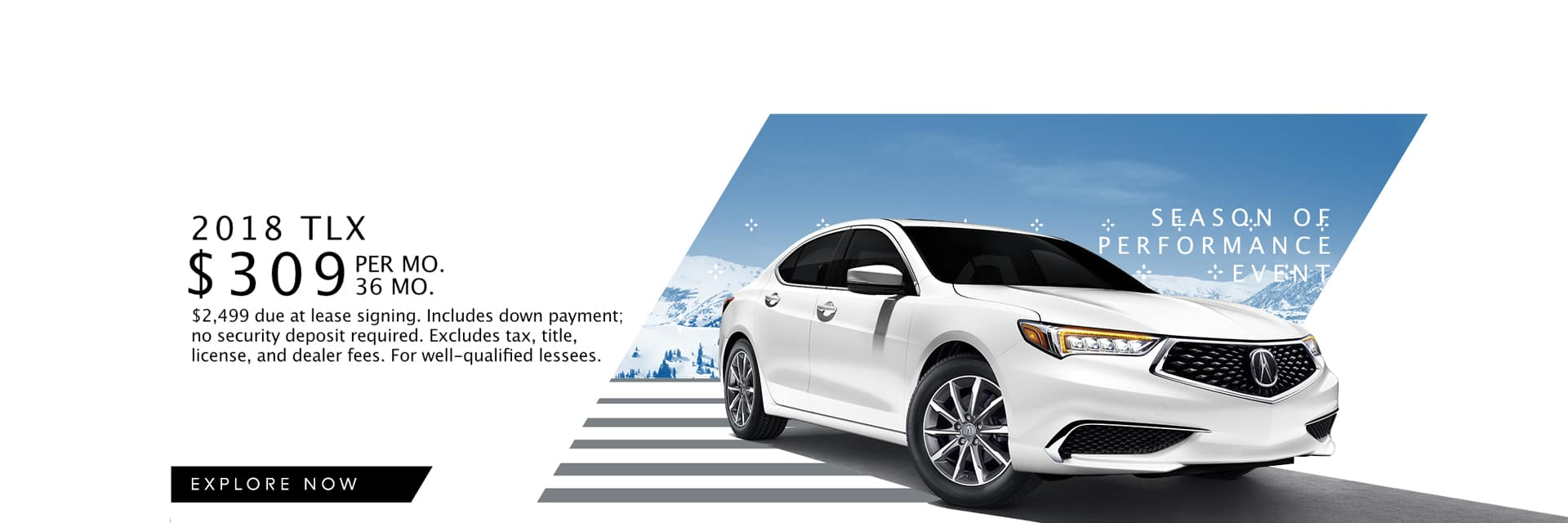 2018 TLX Offer