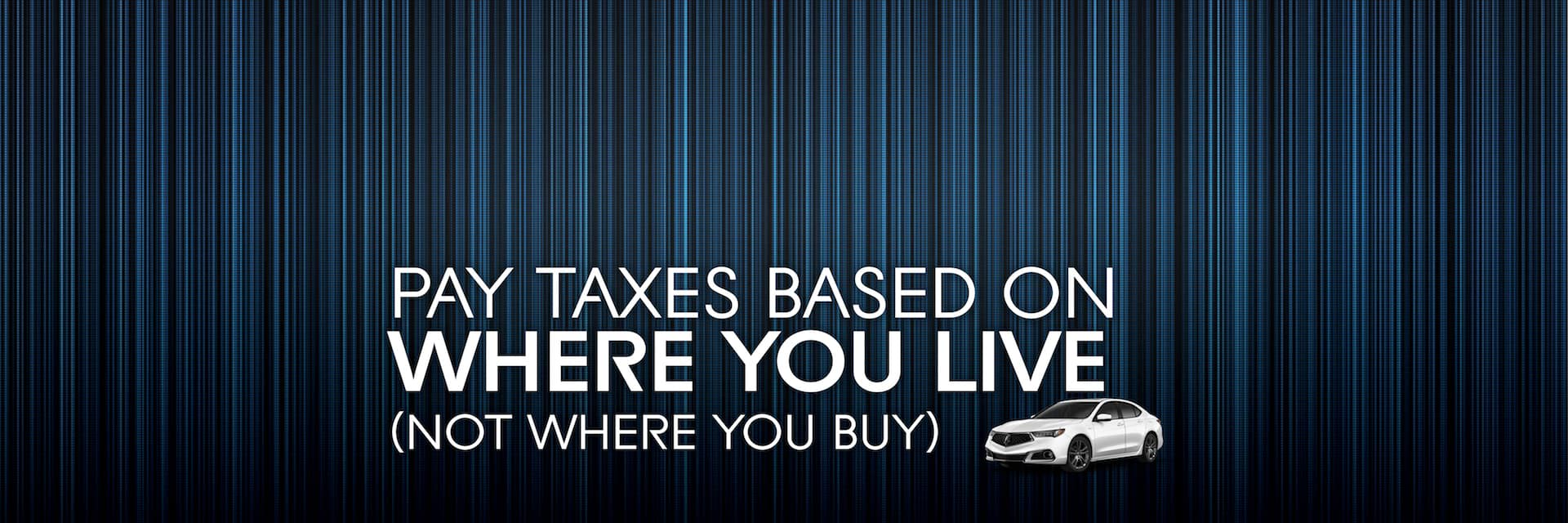 McGrath Acura Chicago Taxes