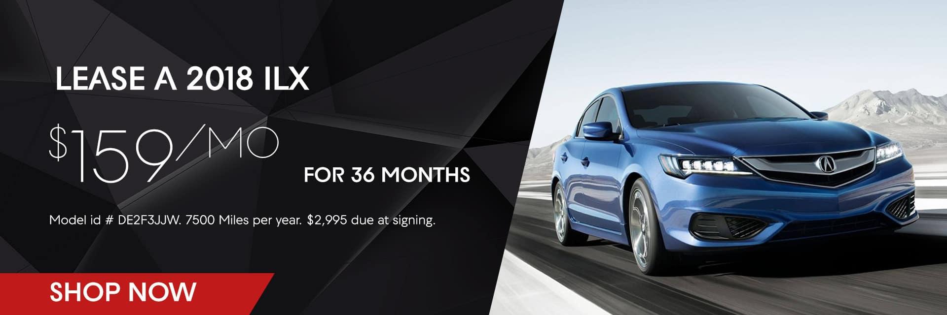 McGrath Acura Chicago February ILX Offer