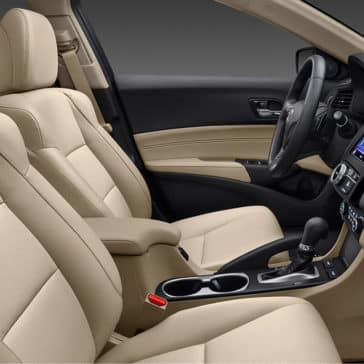 2018 Acura ILX Tan Seats