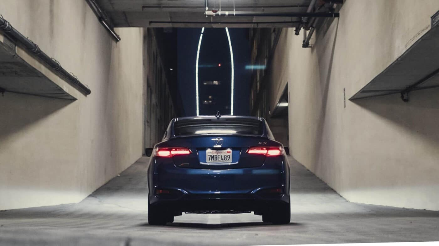 2018 Acura ILX in tunnel
