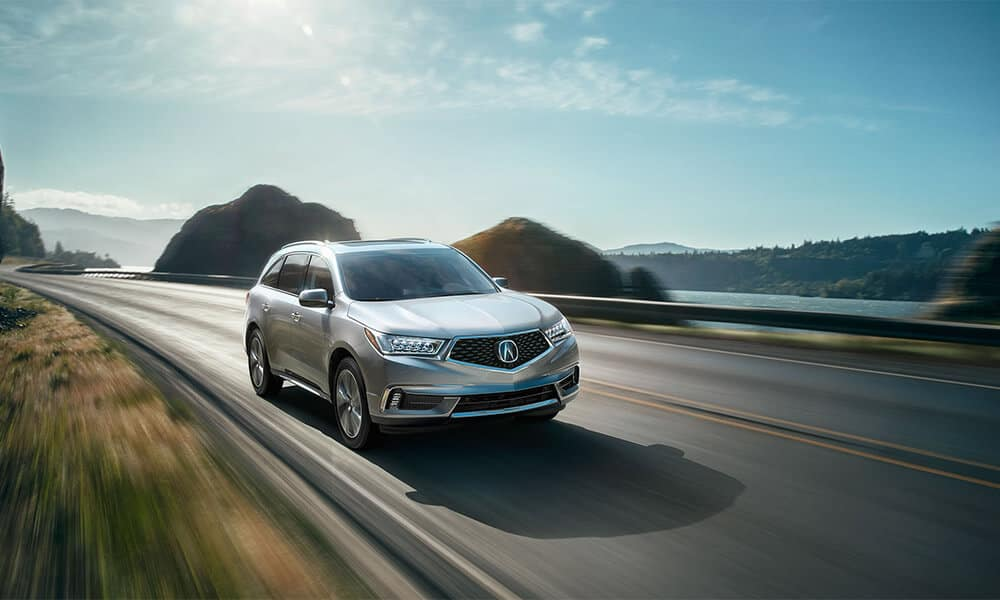 2018 Acura MDX Driving