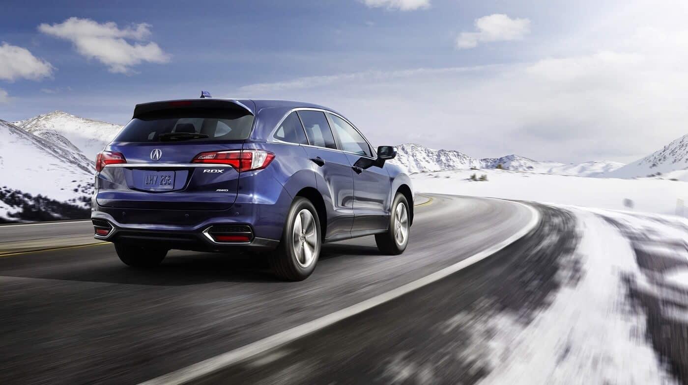 2018 Acura RDX Rear Snowy