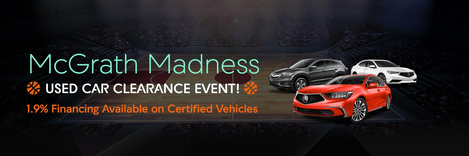 McGrath Madness Used Clearance Event