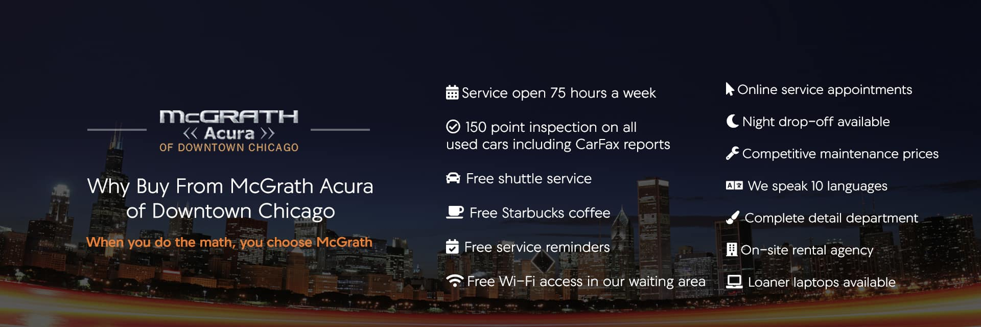 Why Buy McGrath Acura
