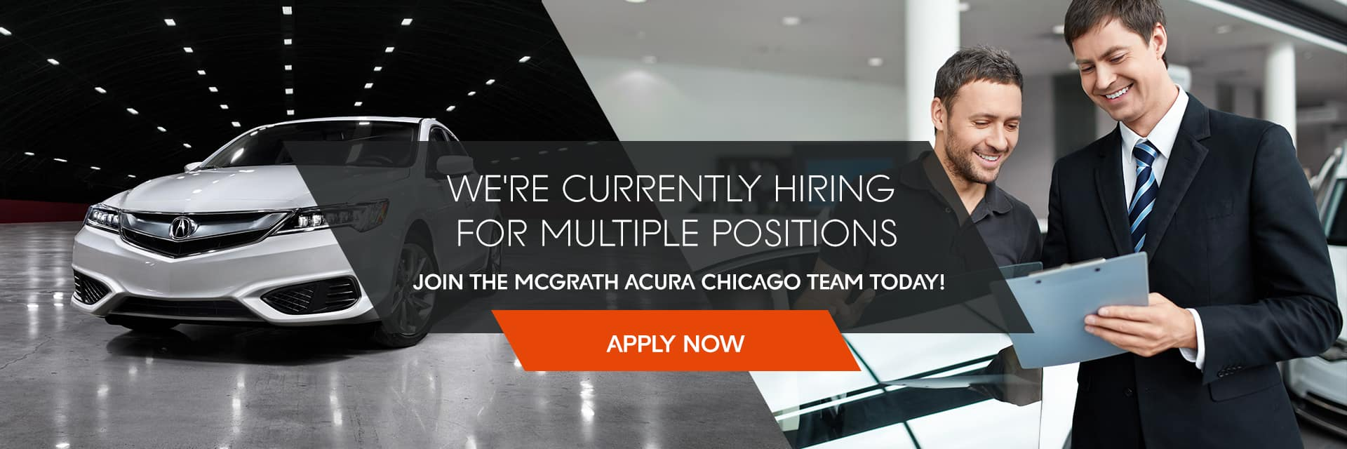 Join the McGrath Acura Chicago team