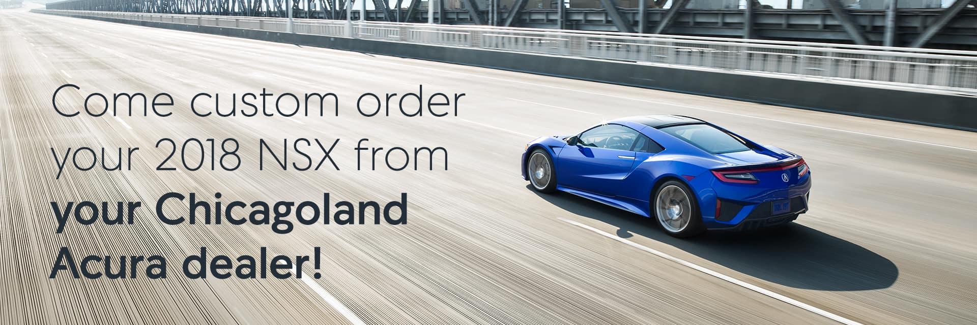 Custom Order 2018 NSX