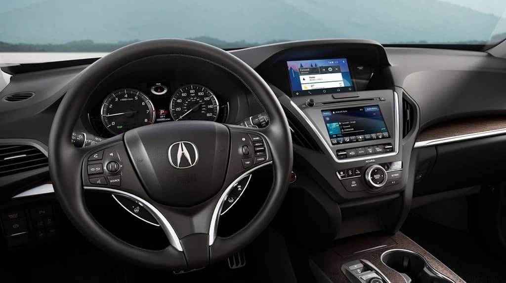 Acura MDX 2019 Dash