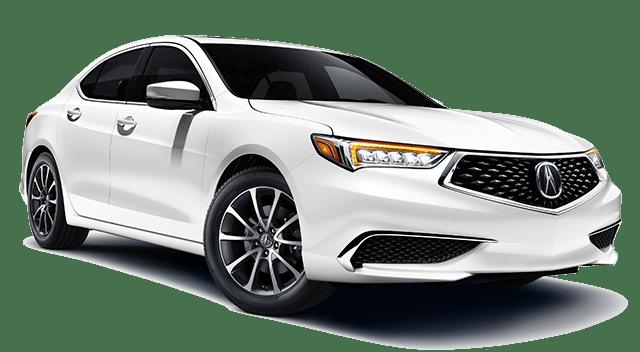 2019 Acura TLX White
