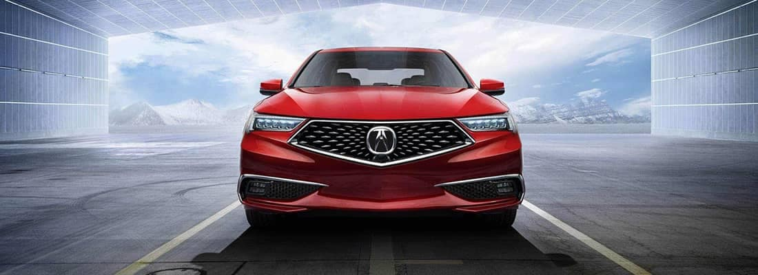 2019 Acura TLX Grill