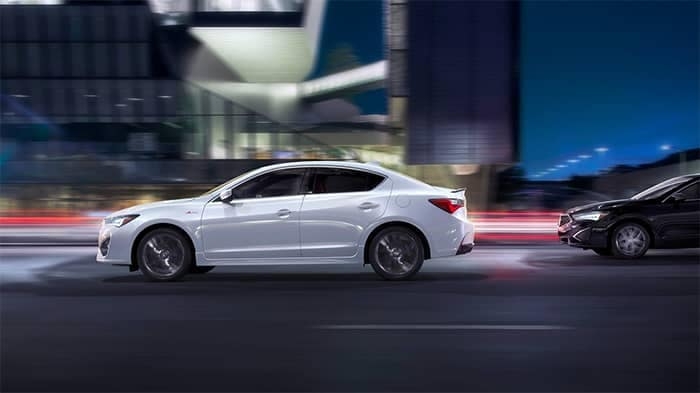 2019 Acura ILX Driving on Highway