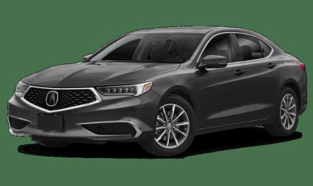 2019 Acura TLX in Black