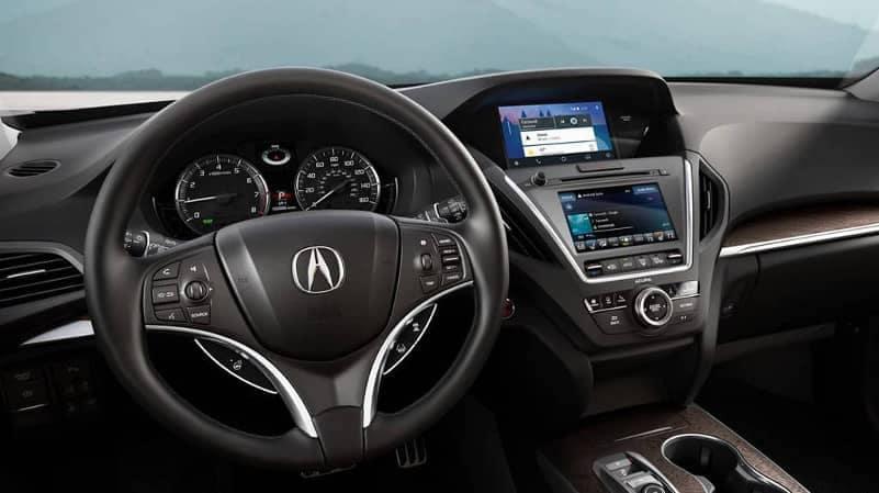 2019 Acura MDX interior cabin