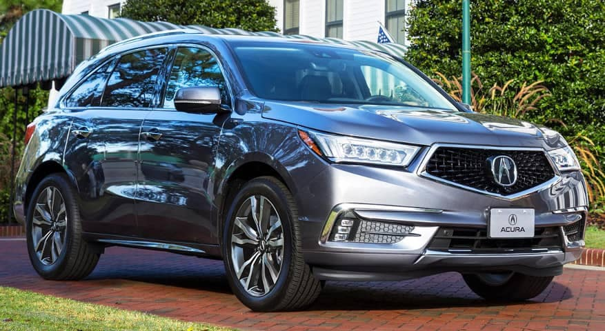 2019 Acura MDX exterior front side