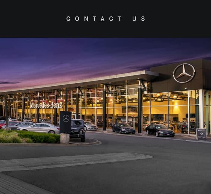 Contact Us Mercedes-Benz Boundary 3550 Lougheed Highway