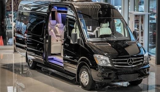 Sprinter and Metris Luxury Vans