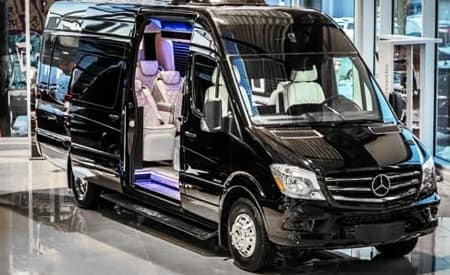 Sprinter & Metris Luxury Vans