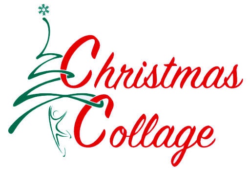 Christmas Collage Logo