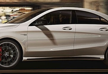 2018 Mercedes-Benz CLA 250 side view