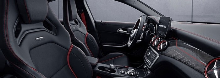2018 Mercedes-Benz CLA 250 front interior